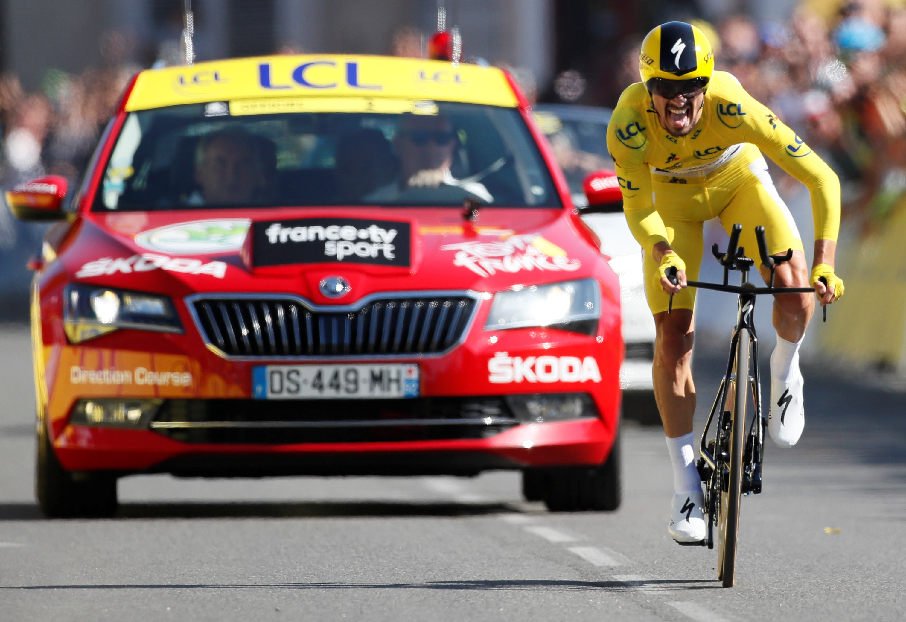 Cyclisme - Tour de France - Tour de France 2019 : Alaphilippe épatant sur le chrono.... ce qu'il faut retenir de la 13e étape