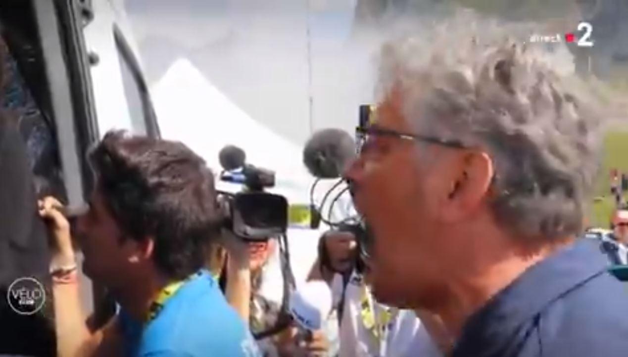 Cyclisme - Tour de France - Tour de France 2019 : l'explosion de joie de Marc Madiot à l'arrivée de Thibaut Pinot