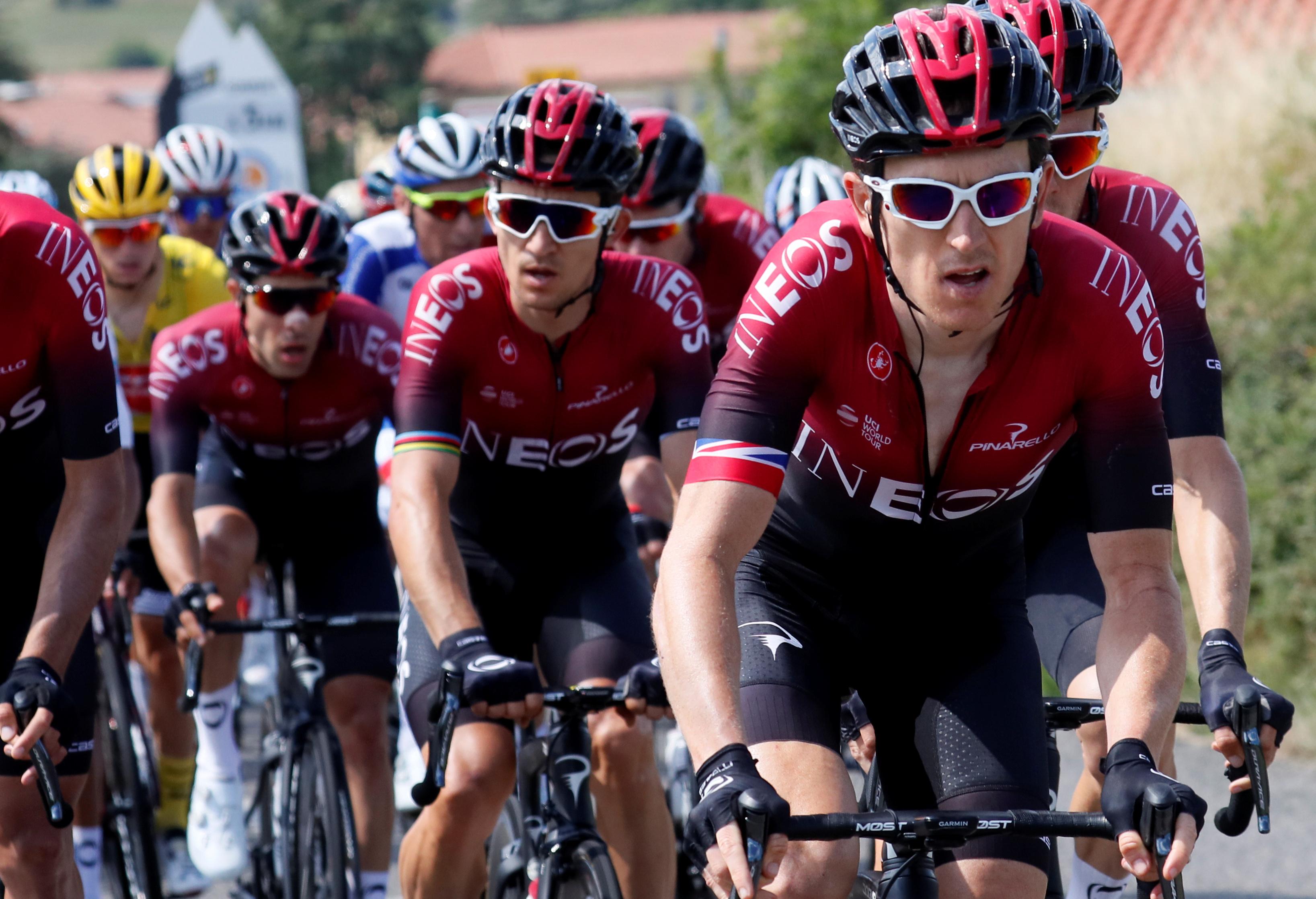 Cyclisme - Tour de France - Tour de France : Ineos dans un fauteuil au pied des Pyrénées