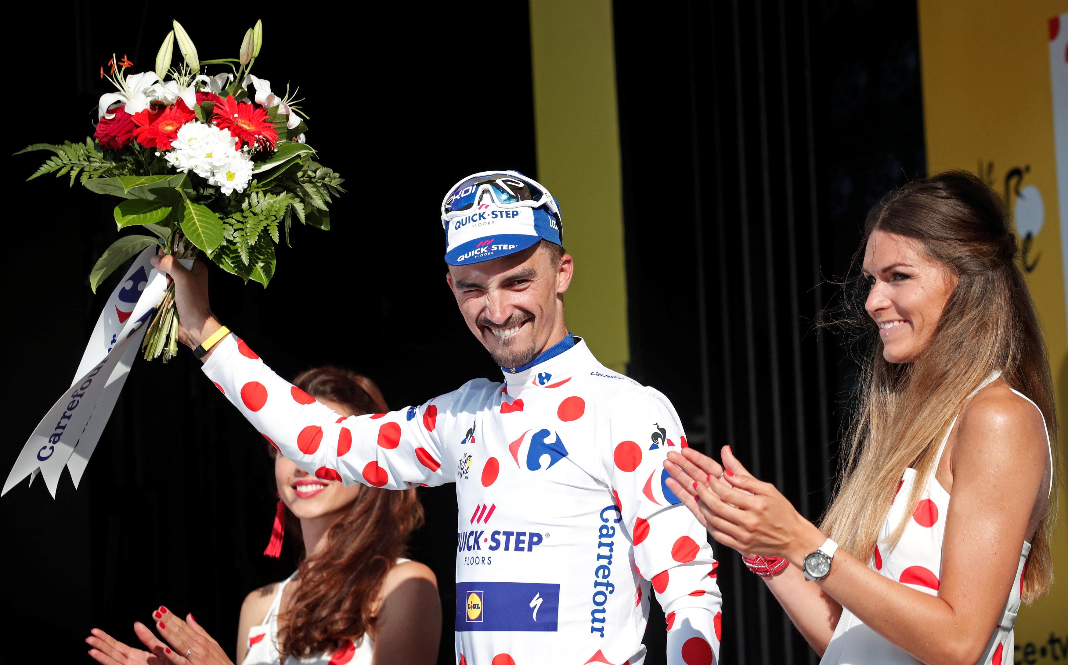 Cyclisme -  Tour de France - Tour de France : Alaphilippe, tout feu tout flamme