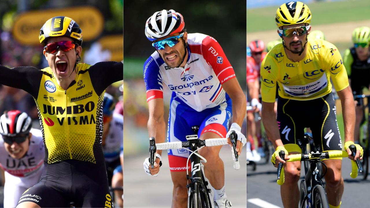 Cyclisme - Tour de France - Van Aert vainqueur, Pinot lâché, Alaphilippe conforté : Ce qu'il faut retenir de la 10e étape du Tour