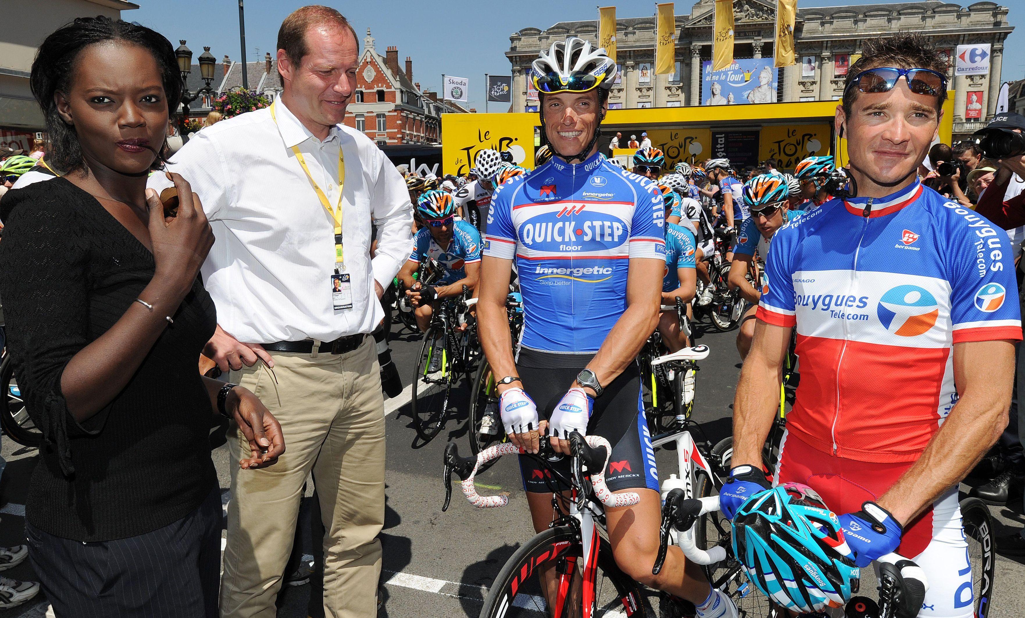 Cyclisme - Tour de France - Voeckler, «le petit fiancé du Tour de France»