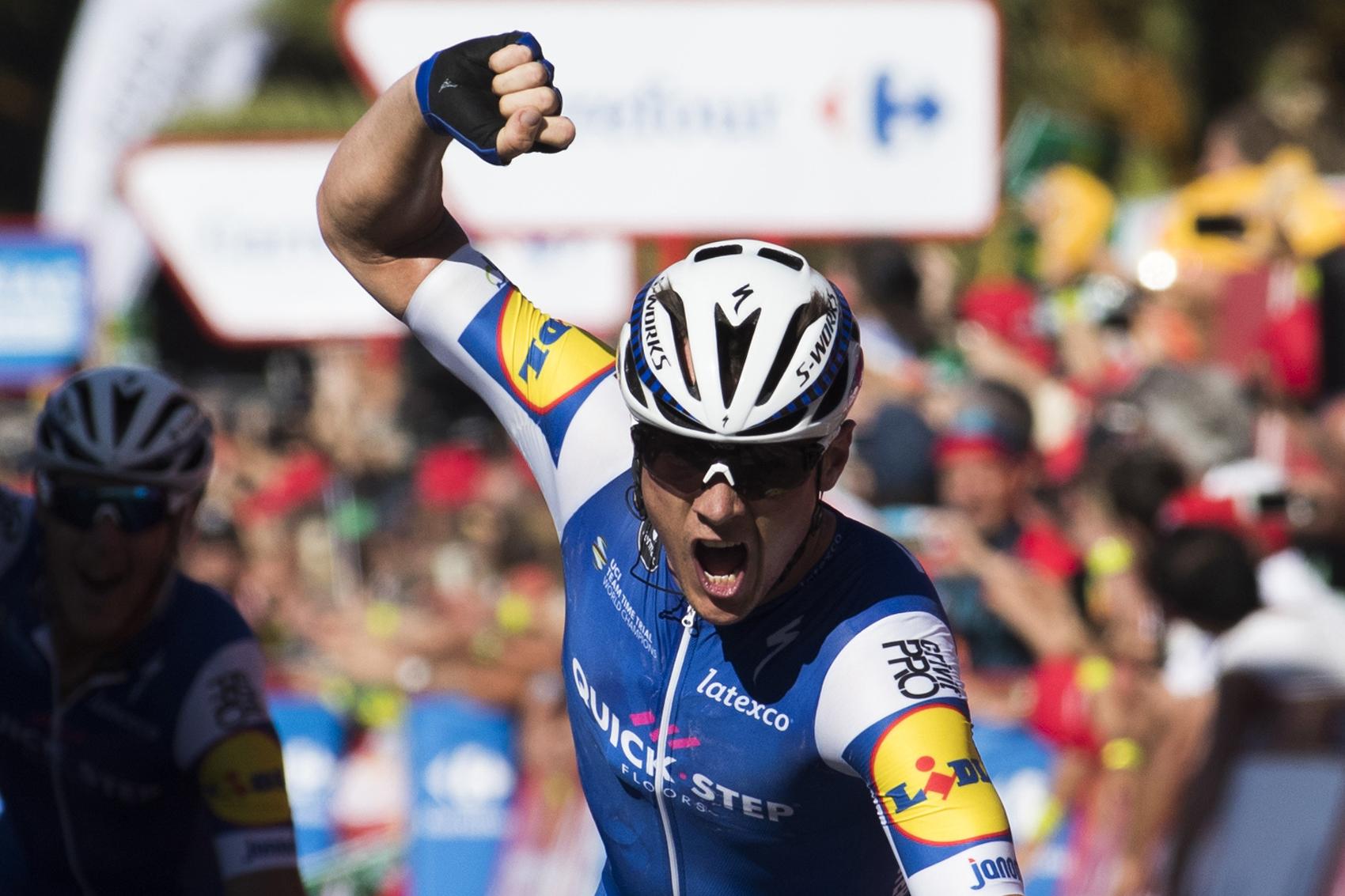 Cyclisme - Vuelta - Vuelta : le très bon coup de Lampaert et de Quick-Step