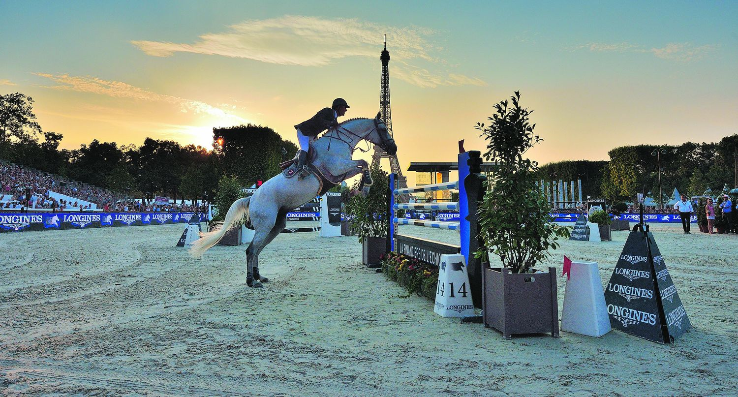 Equitation - Longines Paris Eiffel Jumping, le cheval en capitale