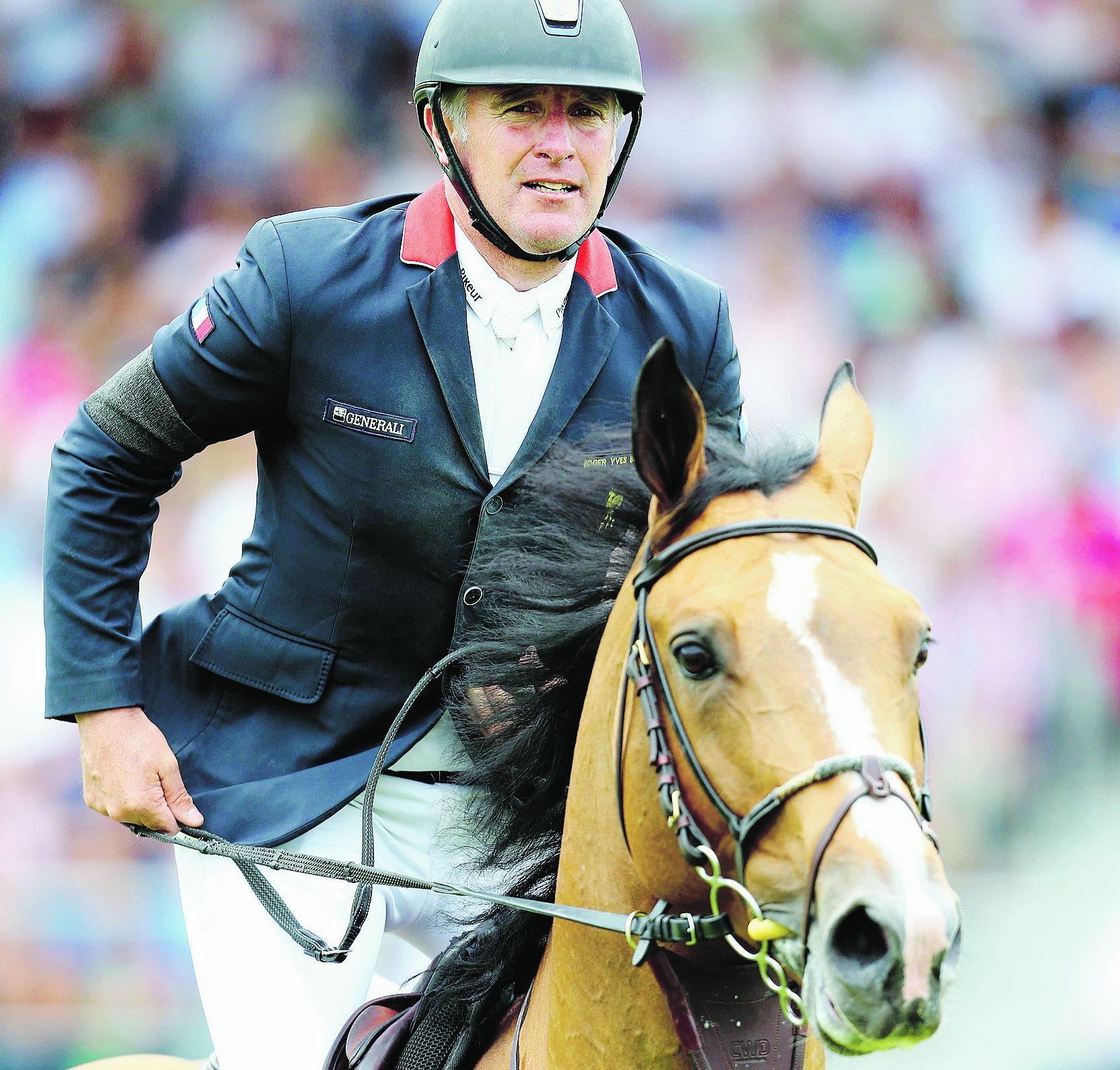 Equitation - Roger-Yves Bost: «C'est le concours qu'on attend toute l'année»