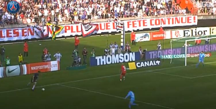 Football - Foot nostalgie : le lob somptueux de Pauleta contre l'Olympique de Marseille