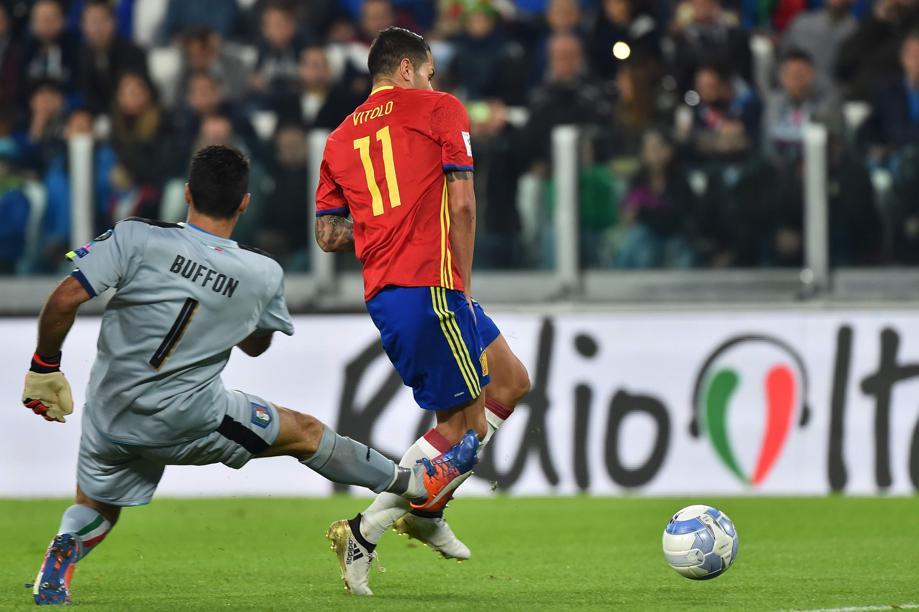 Football - La boulette monumentale de Gigi Buffon face à l'Espagne