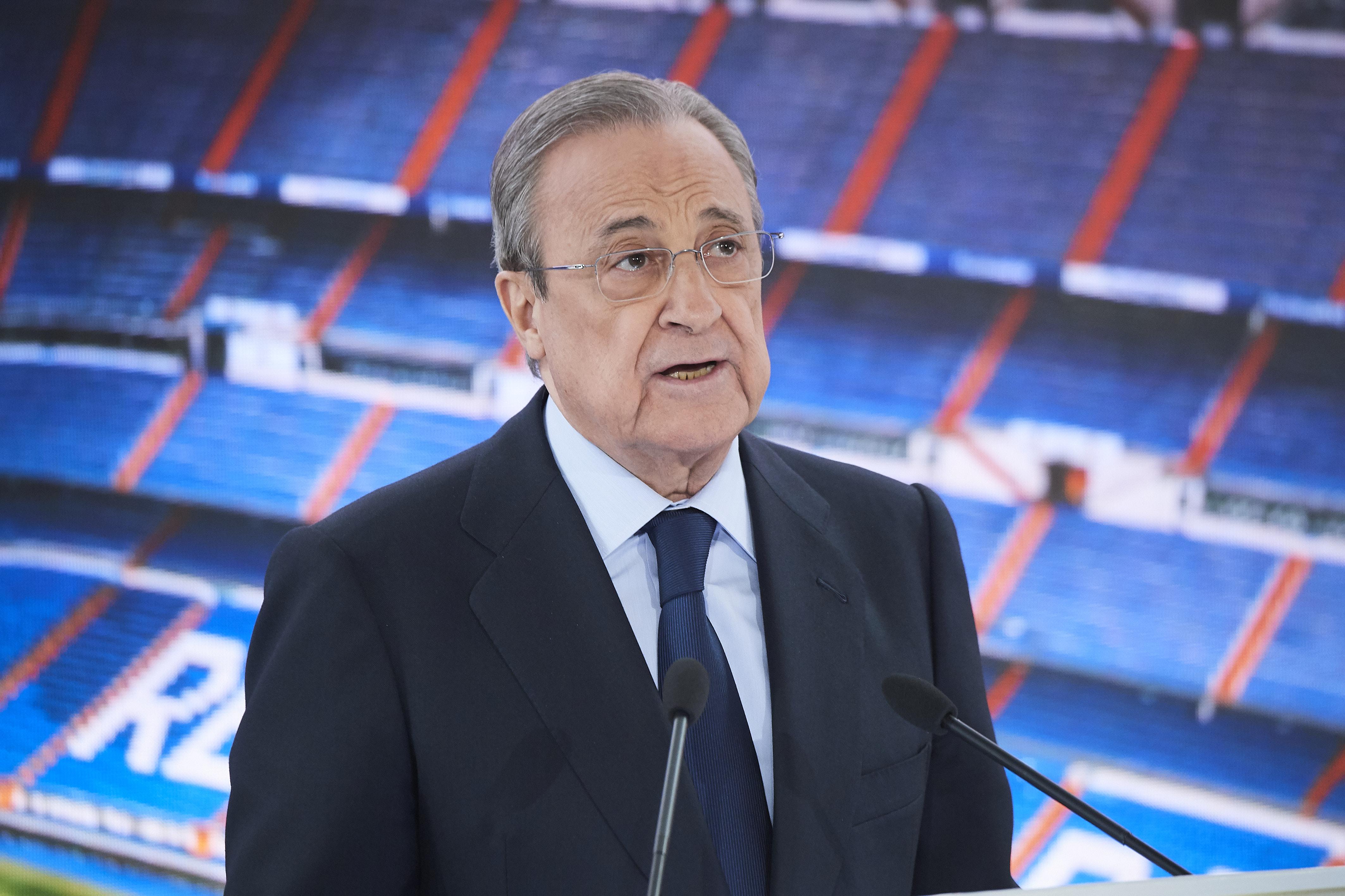 La nouvelle super-ligue voulue par le Real Madrid