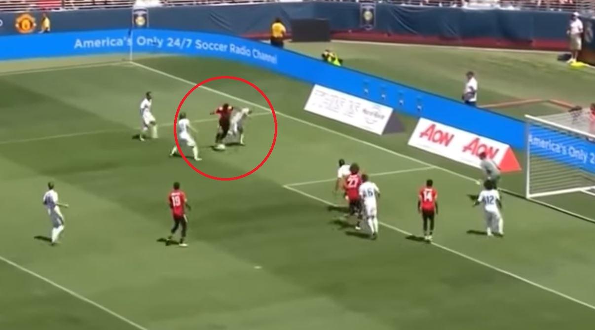 Football - Le festival de Martial dans la défense du Real Madrid