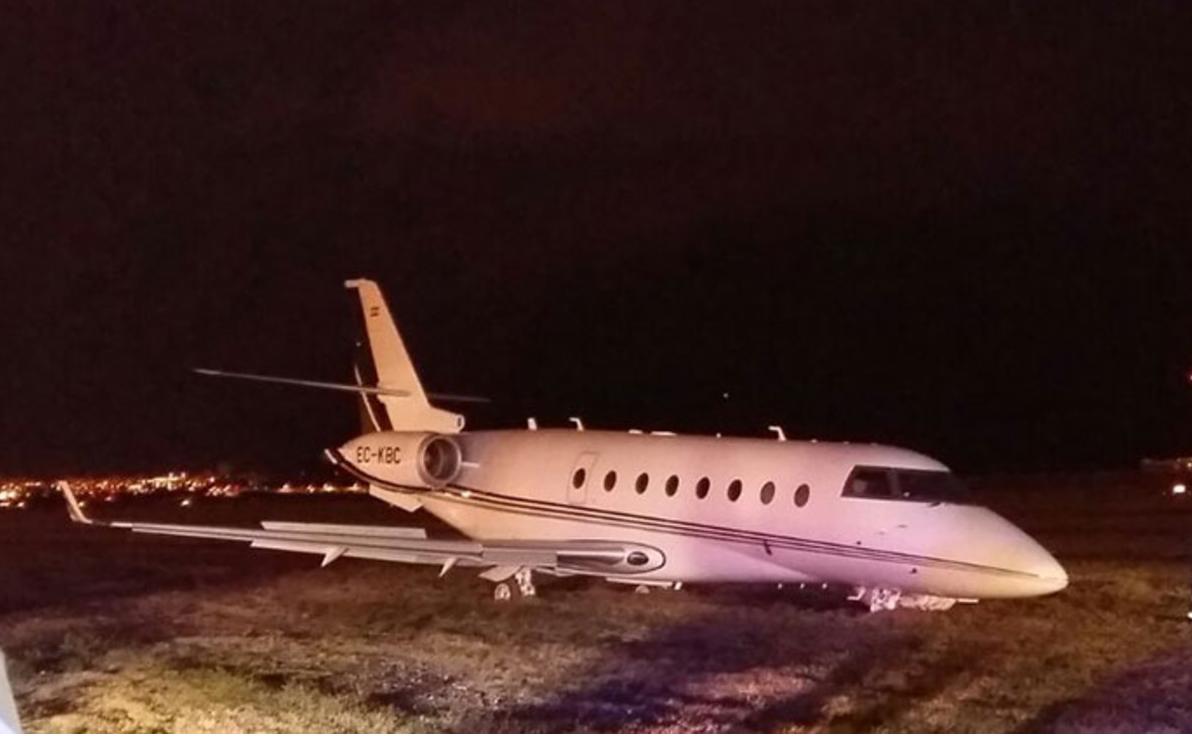 Football - Le jet privé de Cristiano Ronaldo s'est crashé à Barcelone