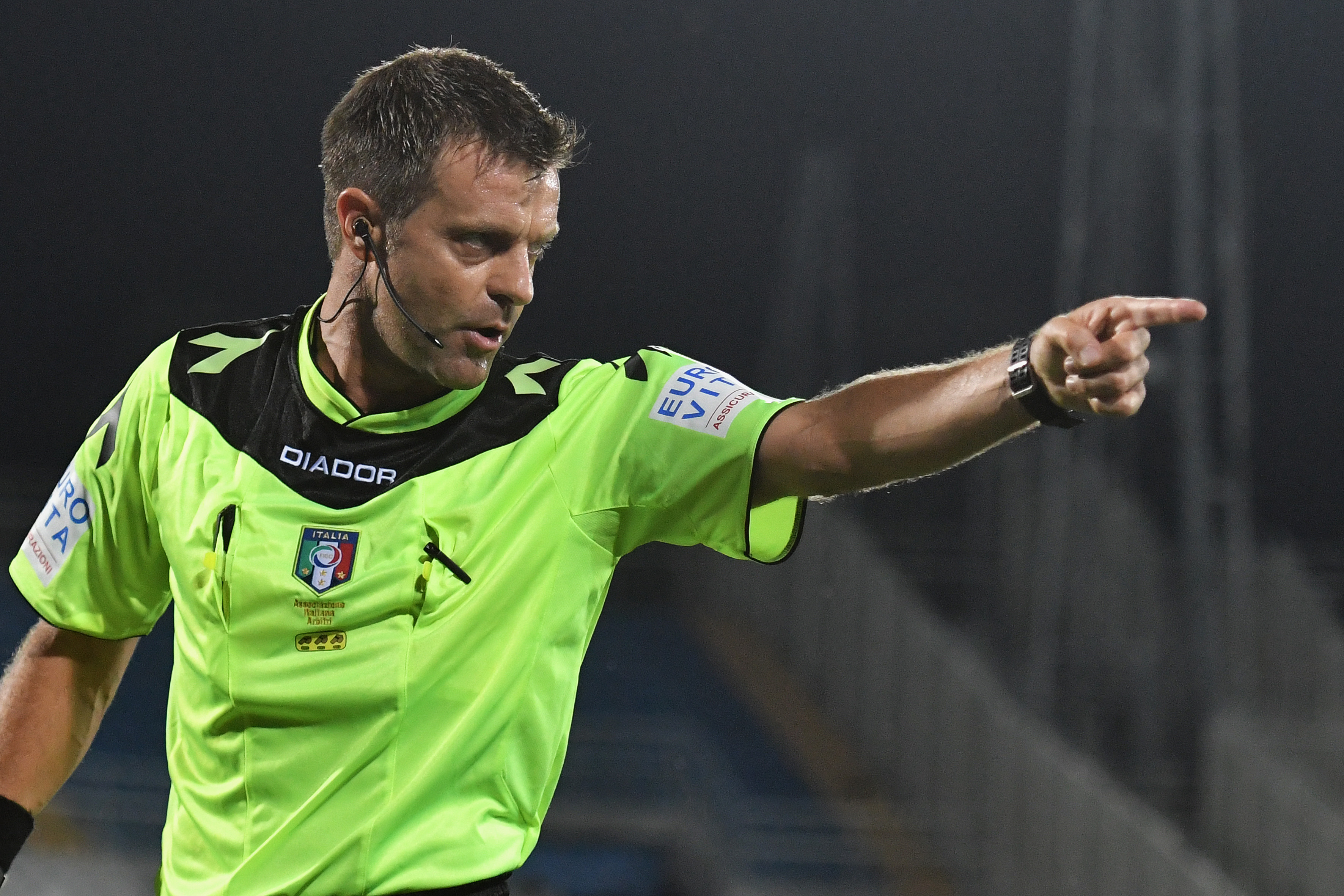 Football - Le premier carton vert de l'histoire attribué en Italie
