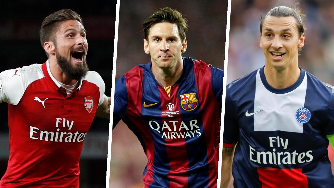 Football - Messi, Giroud, Ibrahimovic... les 10 plus beaux buts de la décennie