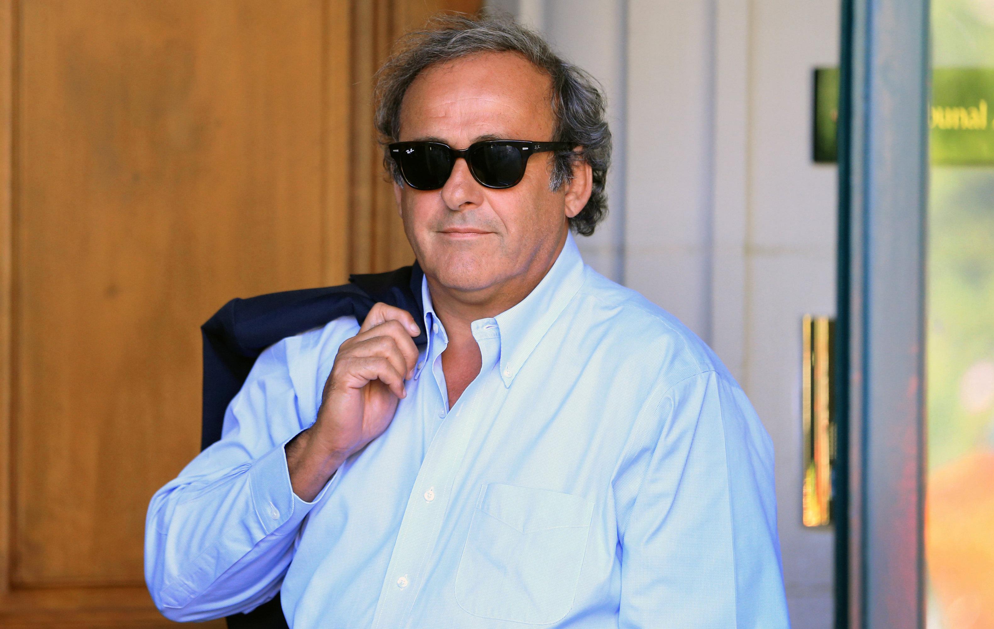 Football - Platini : «Je suis revanchard et prêt à tout»