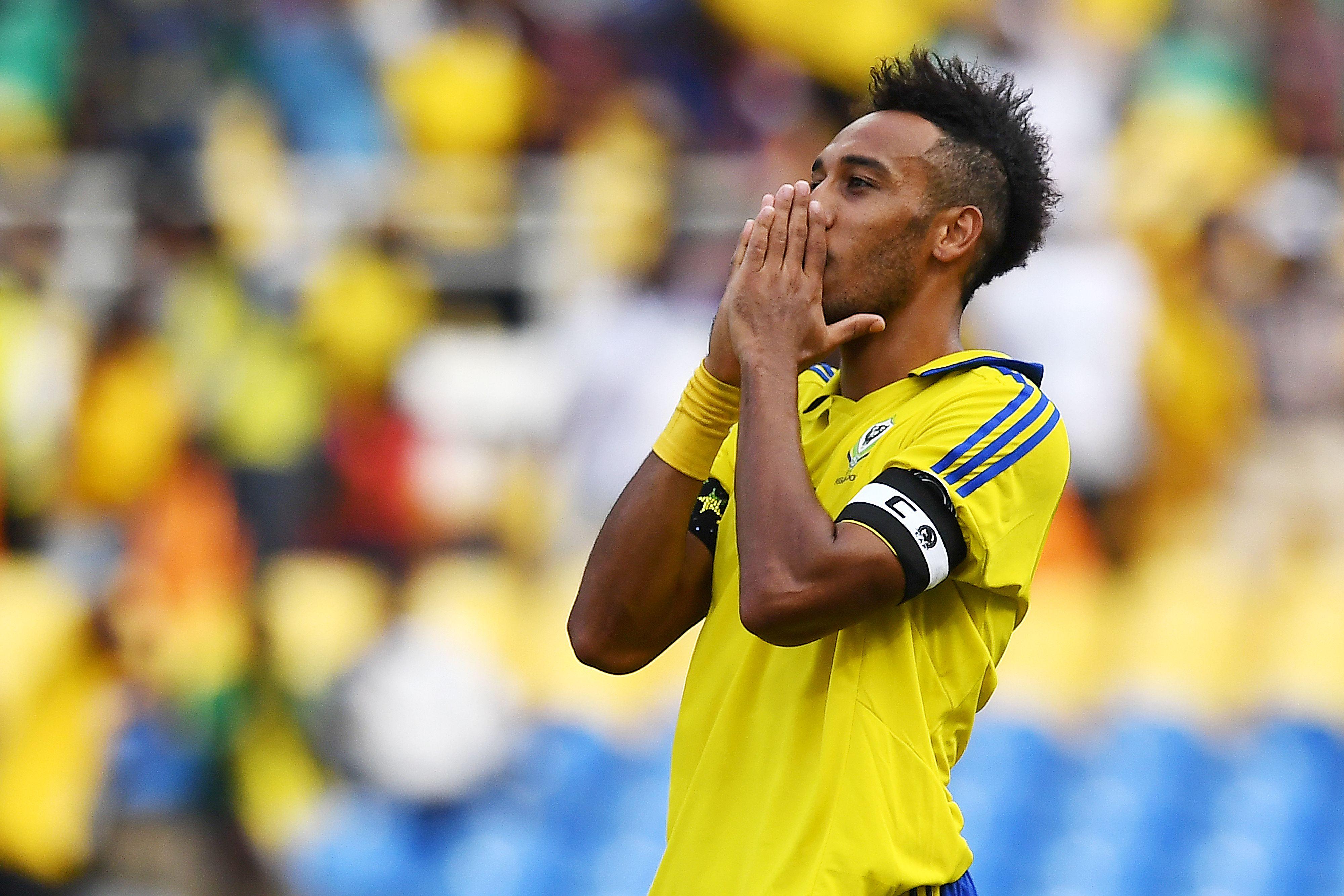 Football - CAN - Le Gabon d'Aubameyang accroché par le Burkina Faso