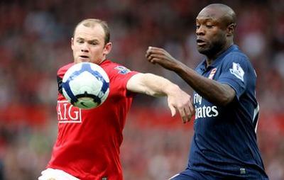 Wayne Rooney-William Gallas