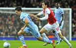 City refroidit Arsenal