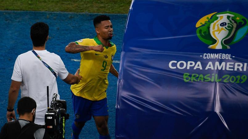 Football - Copa America - Copa America: la grosse colère de Gabriel Jesus, exclu lors de la finale