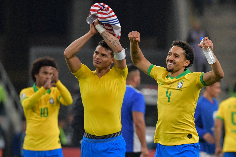 Football - Copa America - Copa América: le Brésil rompt le maléfice paraguayen
