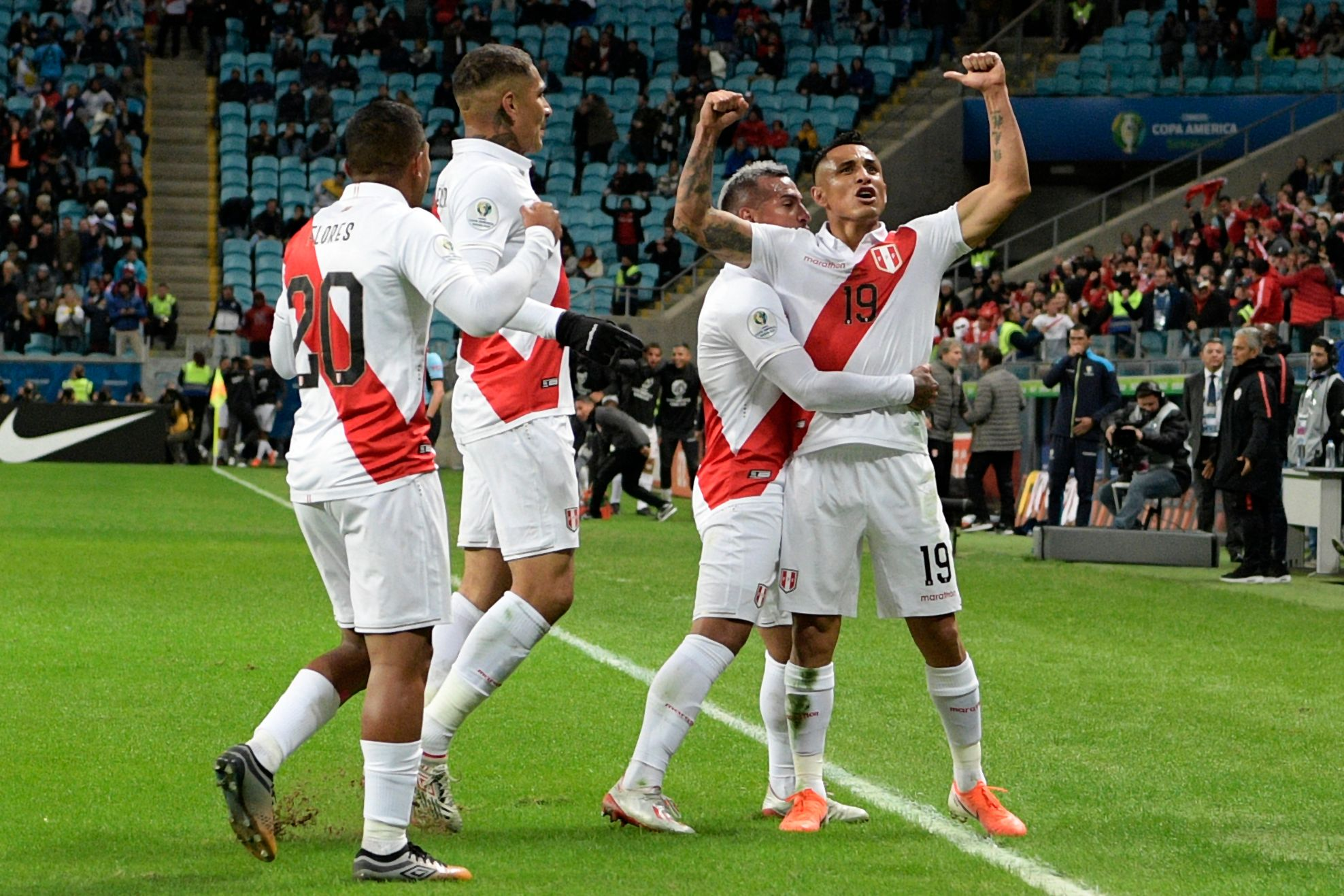 Football - Copa America - Copa América : le Pérou surprend le Chili et défiera le Brésil en finale