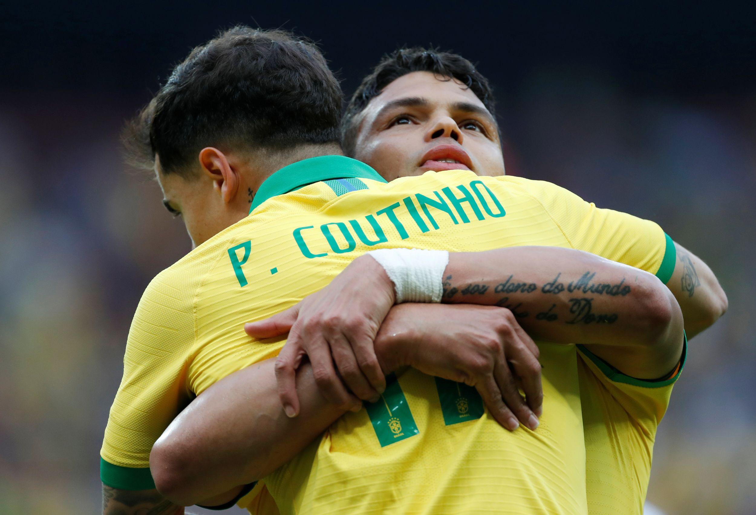 Football - Copa America - Thiago Silva sur Coutinho : «Une référence, encore plus en l'absence de Neymar»