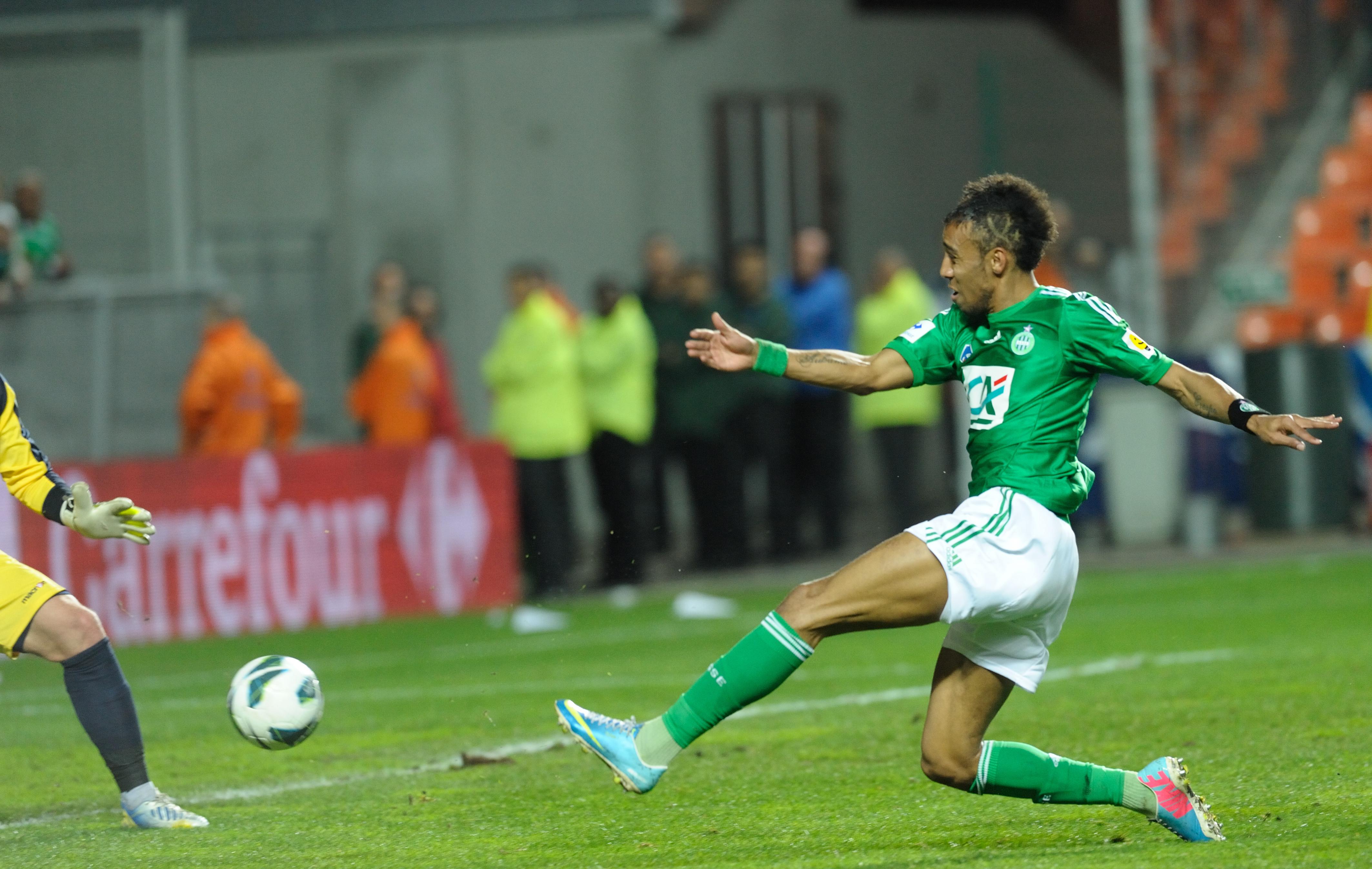 Aubameyang ne pas baisser la t te coupe de france football - Football coupe de france ...