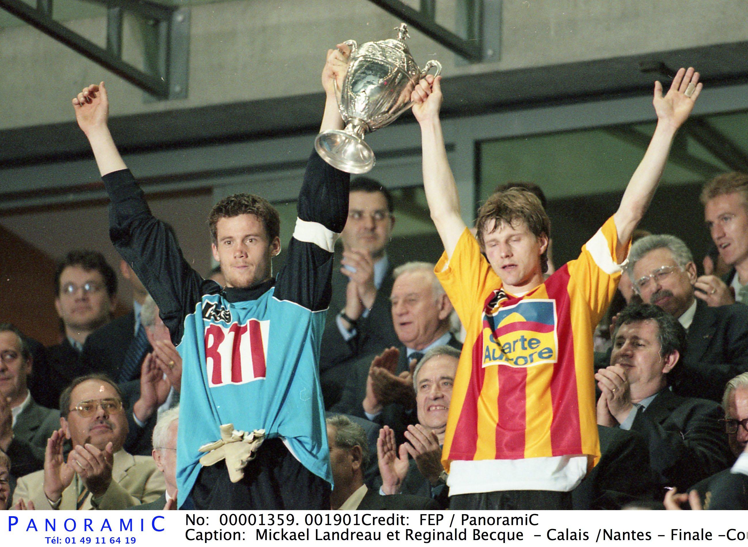 Football - Coupe de France - C'est arrivé il y a 20 ans : la victoire de Nantes en finale de Coupe de France face à Calais