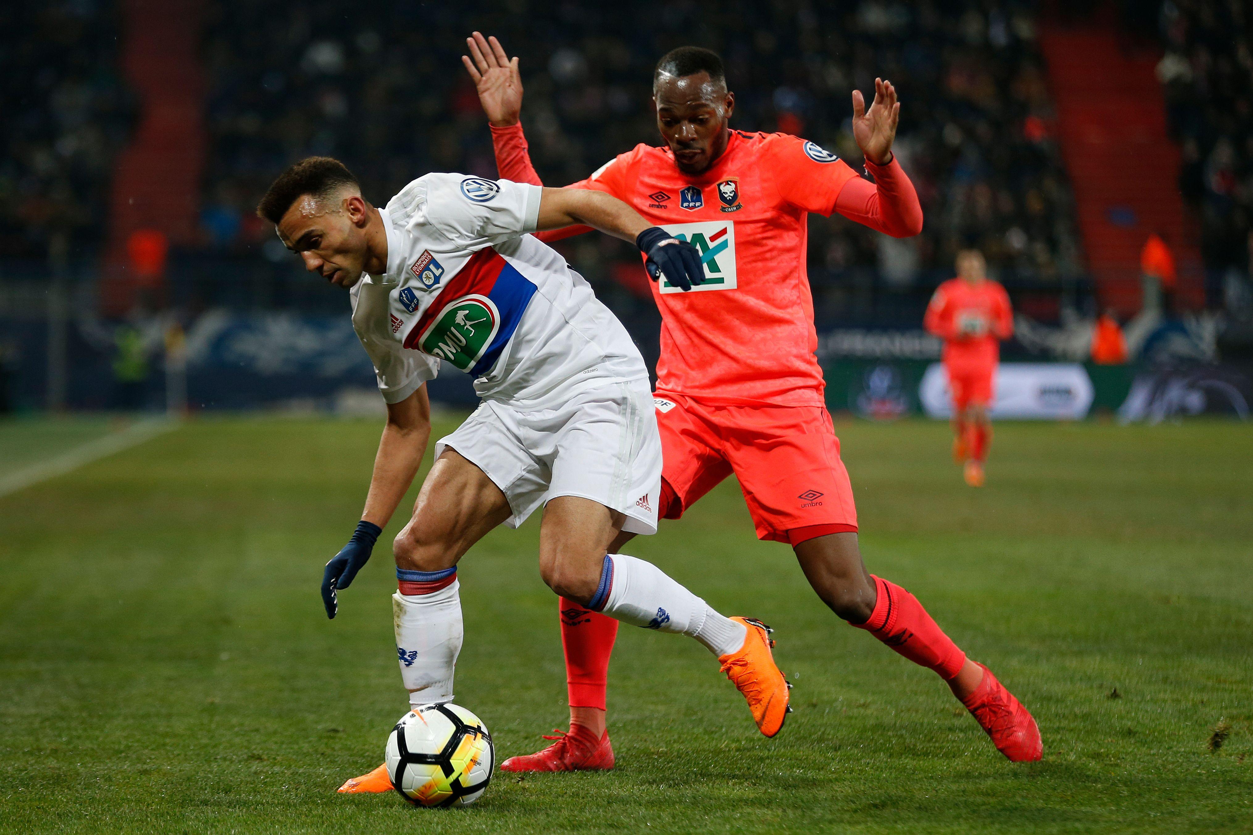 Caen surprend lyon et rejoint le psg en demies coupe de france football - Coupe de france psg lyon ...