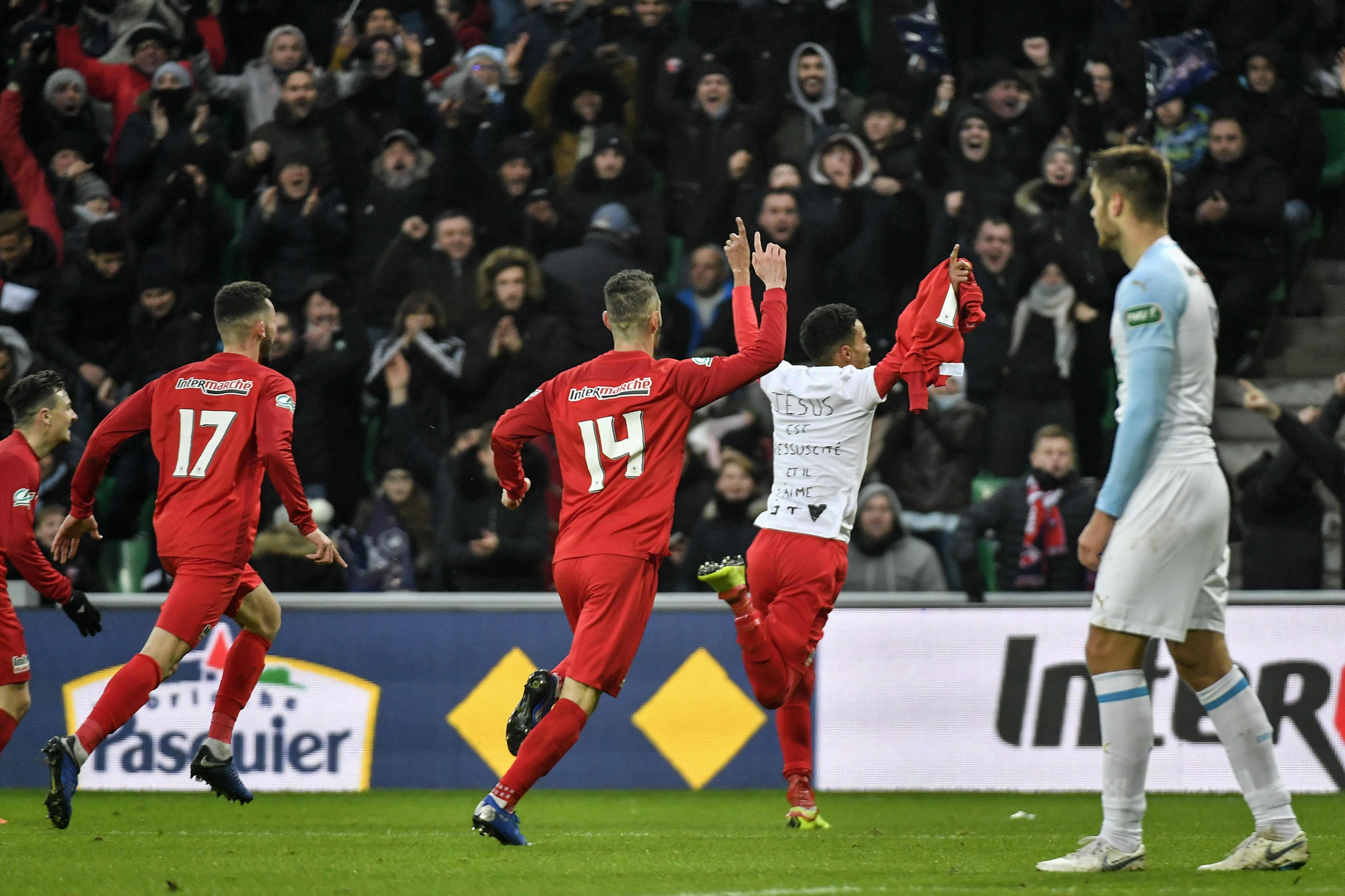 Football - Coupe de France - Coupe de France : l'OM sombre face à Andrézieux