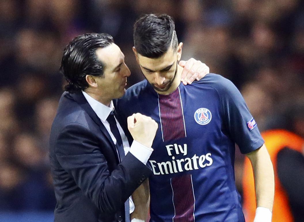 Football - Coupe de France - Emery : «Avec Pastore, la concurrence rend l'équipe plus performante»