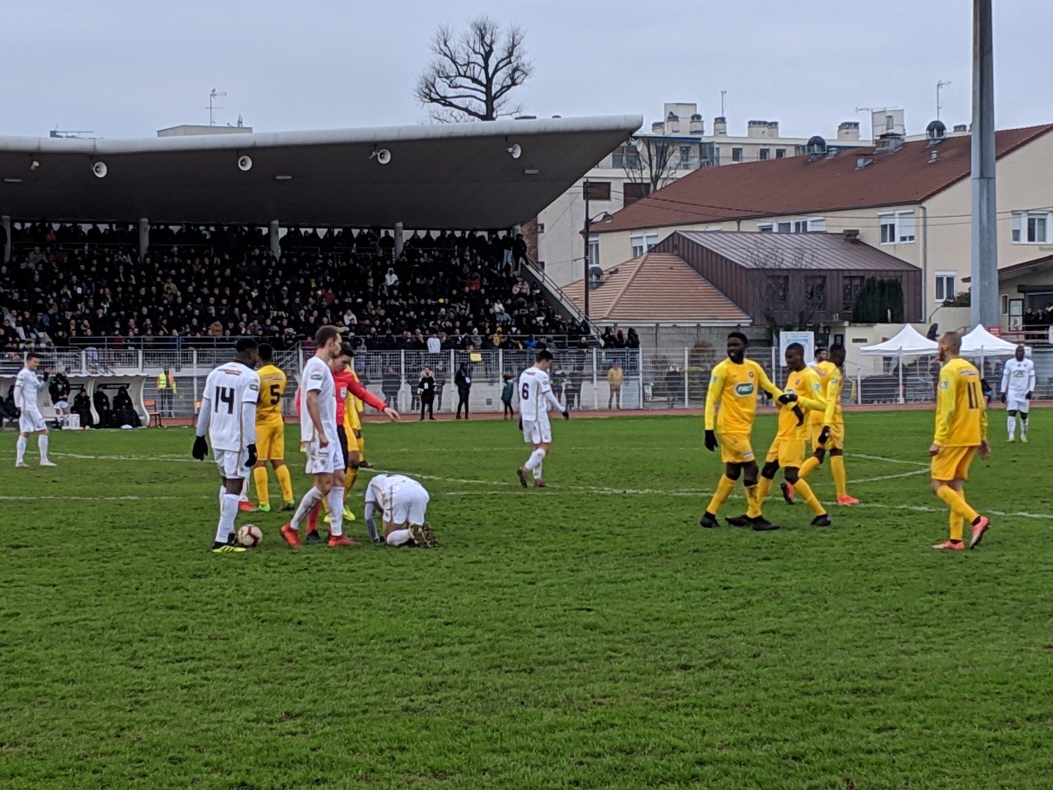 Football - Coupe de France - Le Petit Poucet Viry-Châtillon rêve d'exploit (immense) face à Caen