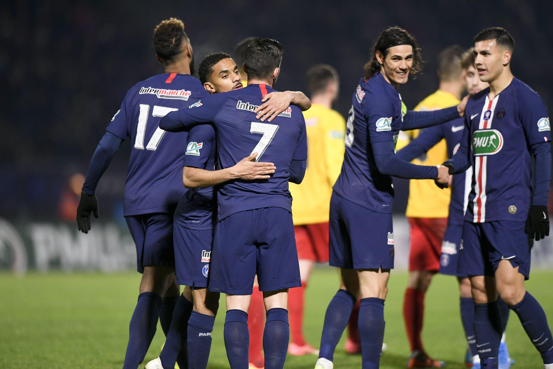 Football - Coupe de France - Coupe de France : le PSG ira défier Lorient en 16es de finale