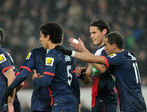 Paris SG-Montpellier, Cavani