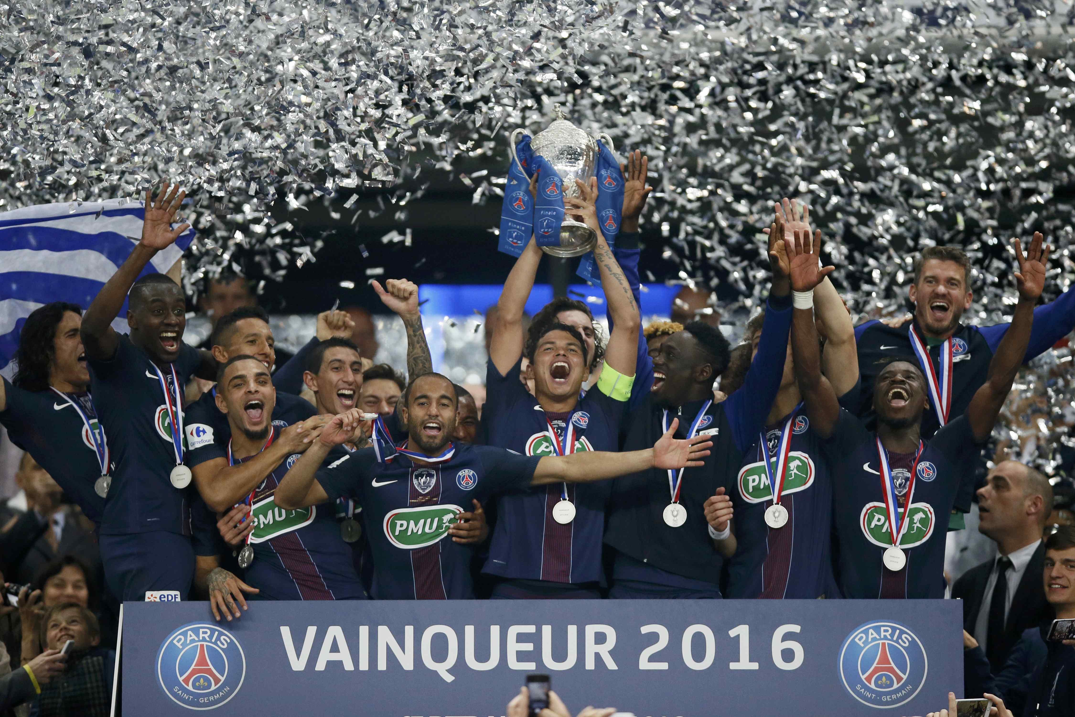 Une 10e coupe de france pour un psg tout puissant coupe - Coupe de france football resultat en direct ...