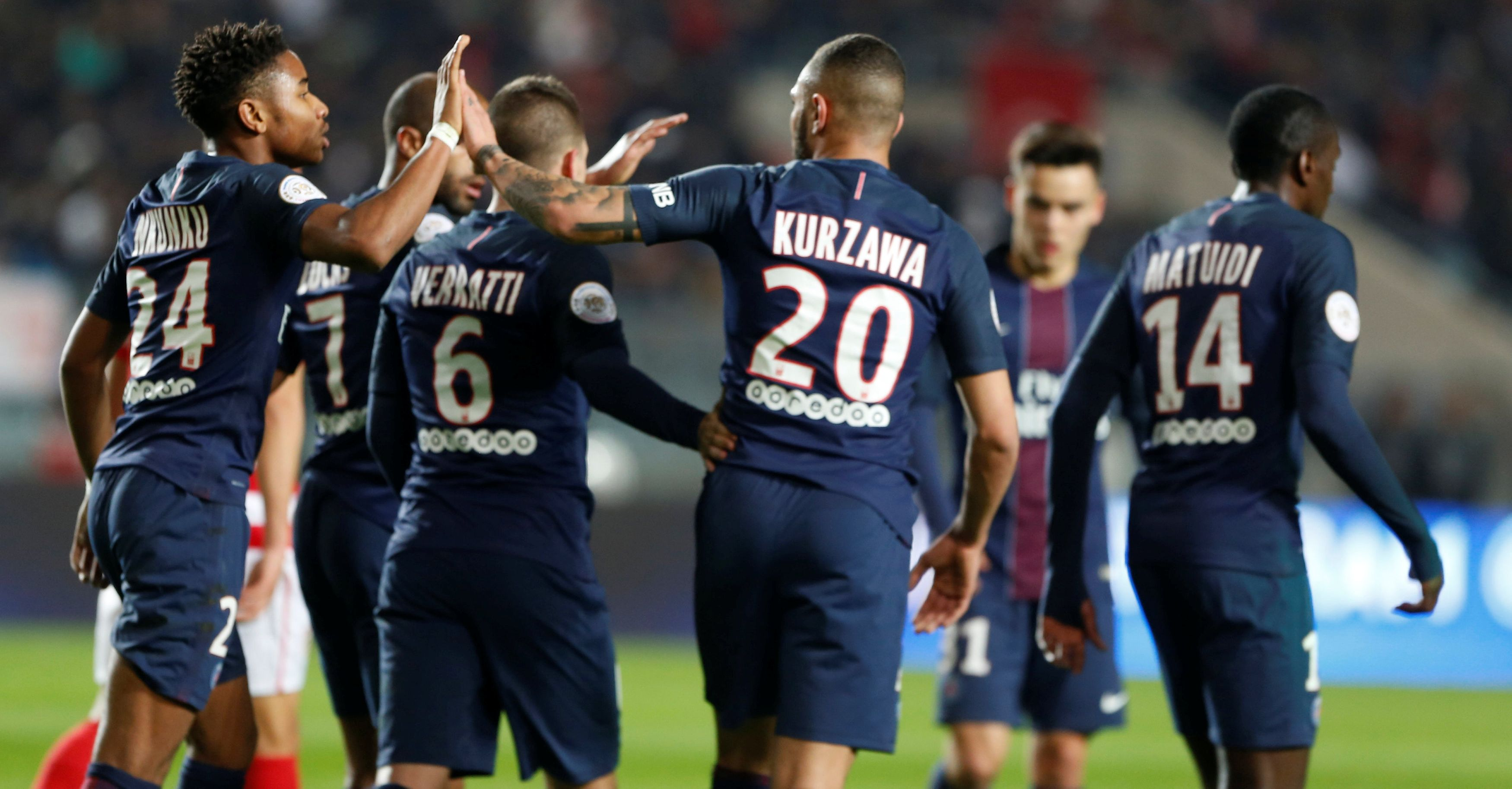 Mercato Concurrence Forme Quel PSG Pour Debuter 2017