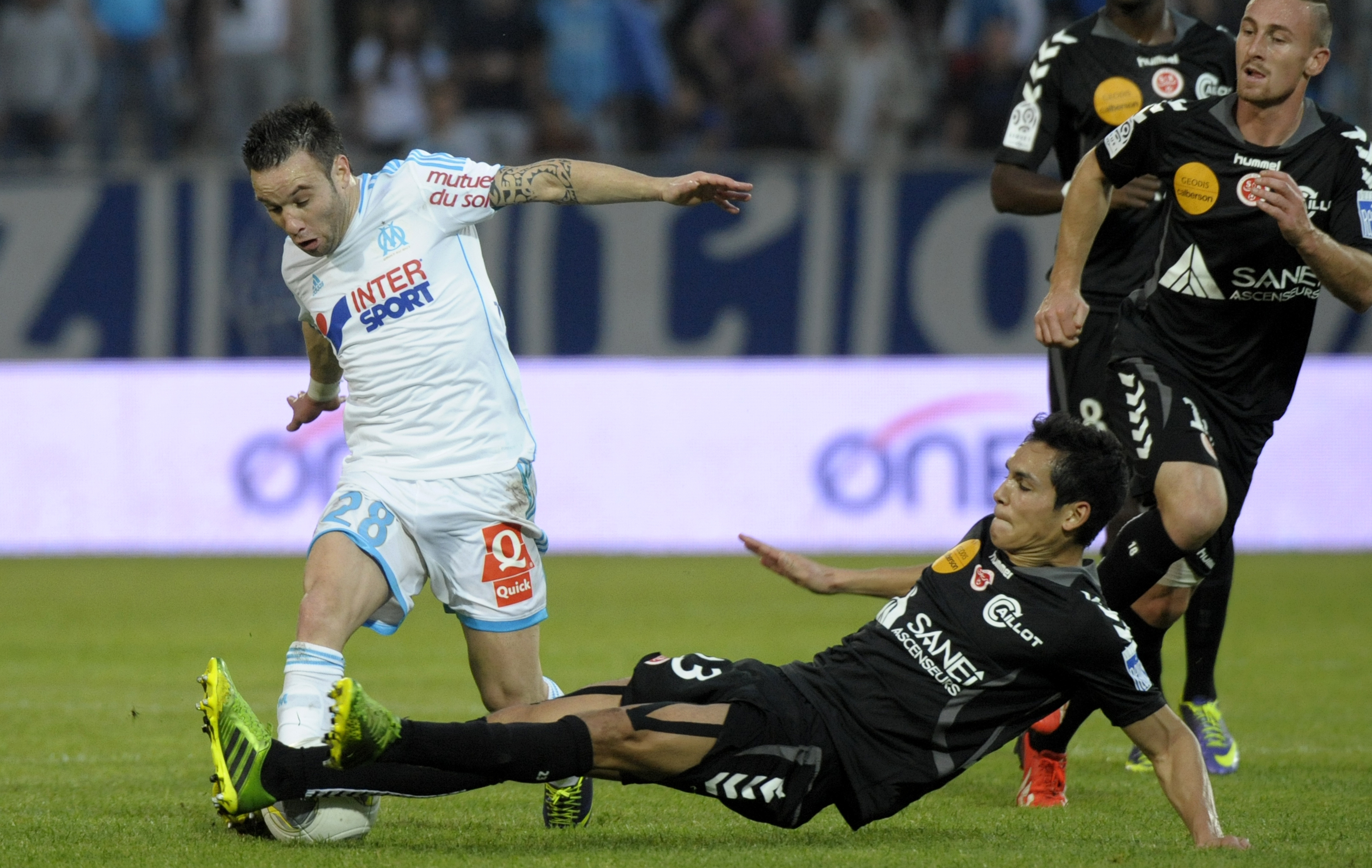 Football - Coupe de France - Quatre chocs entre clubs de Ligue 1