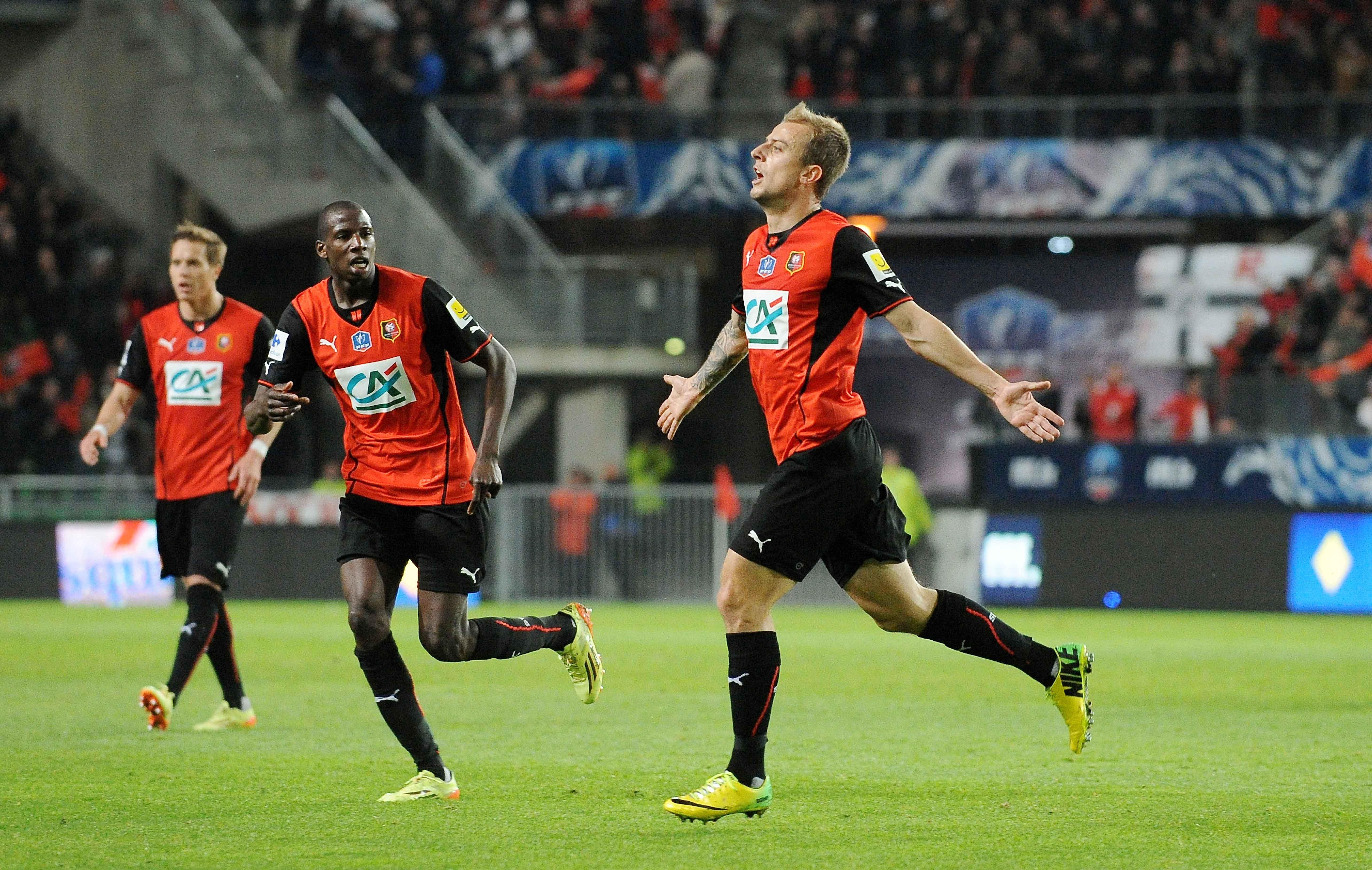 Rennes ira au stade de france coupe de france football - Football coupe de france ...