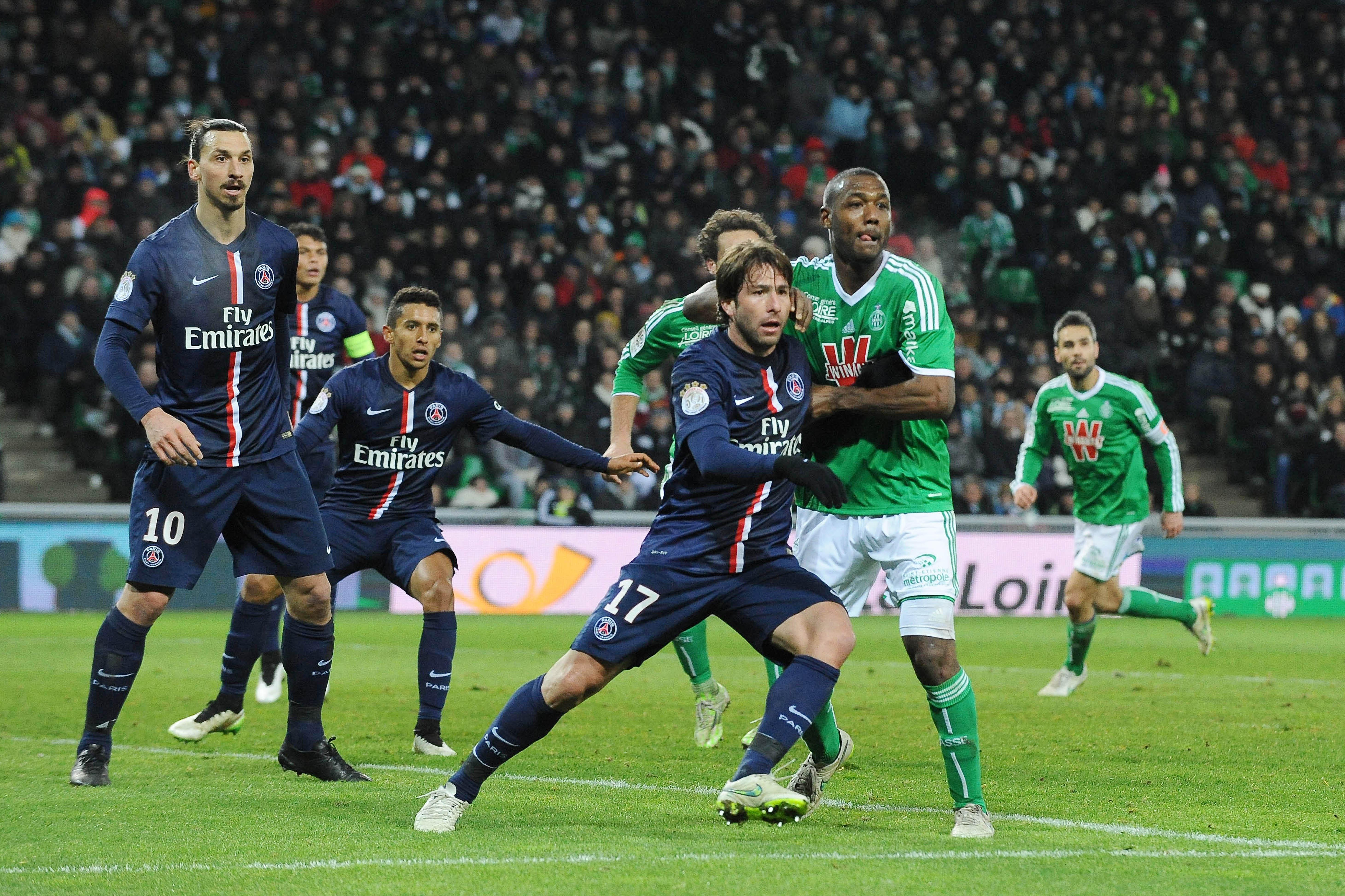 Saint etienne psg les verts ont pos leur veto pour le report coupe de france football - Football coupe de france ...