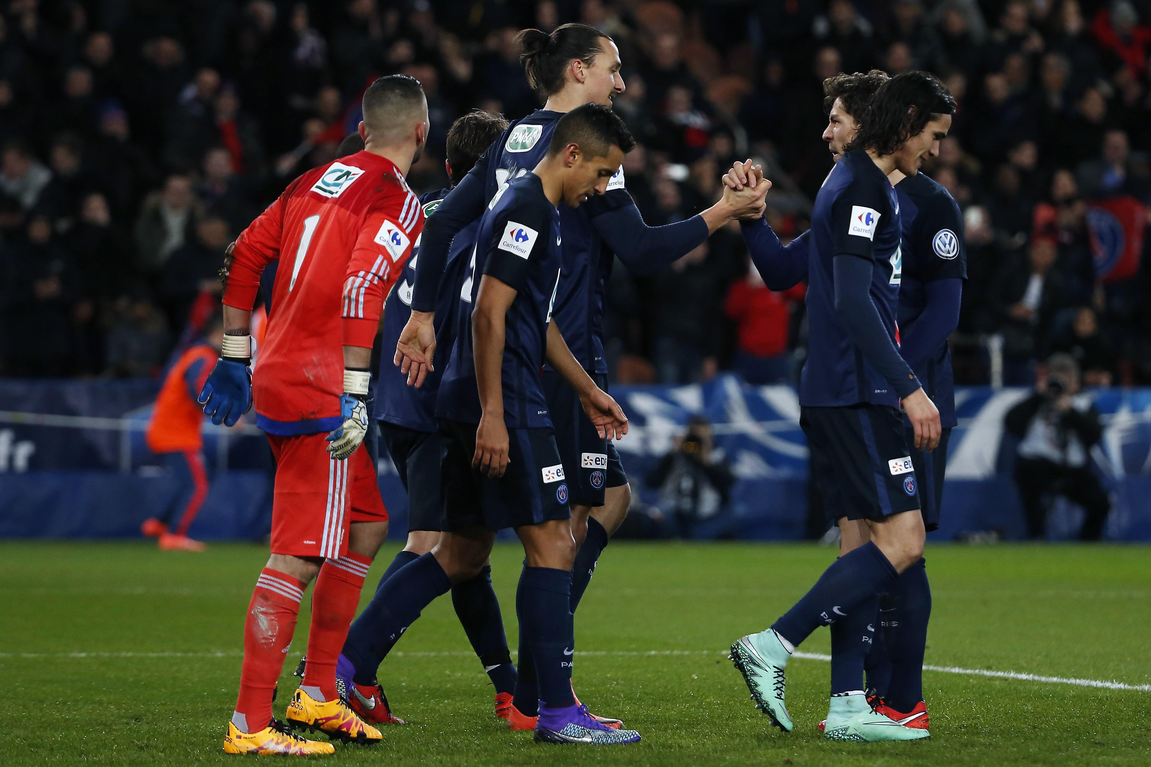 Sans piti pour lyon le psg file en quarts coupe de france football - Coupe de france psg lyon ...