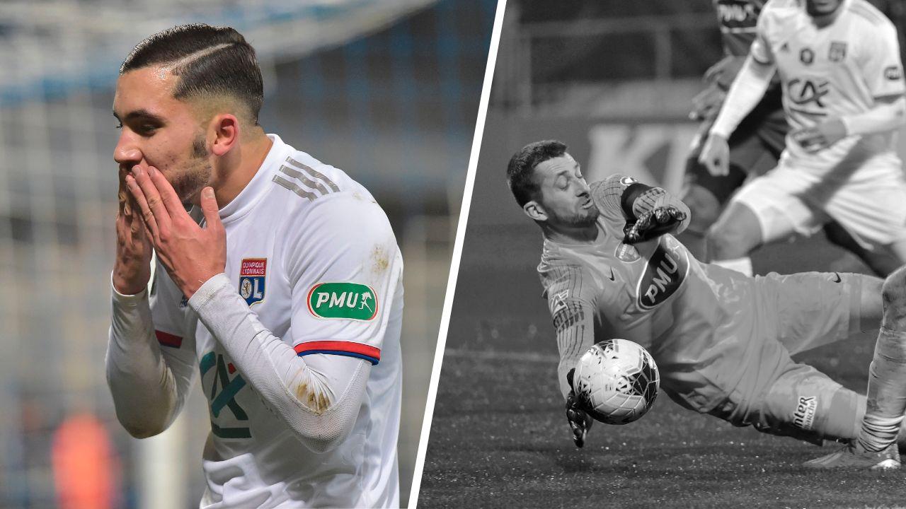 Football - Coupe de France - Tops/Flops Bourg-OL : La jeunesse lyonnaise au pouvoir, les Bressans ont sombré