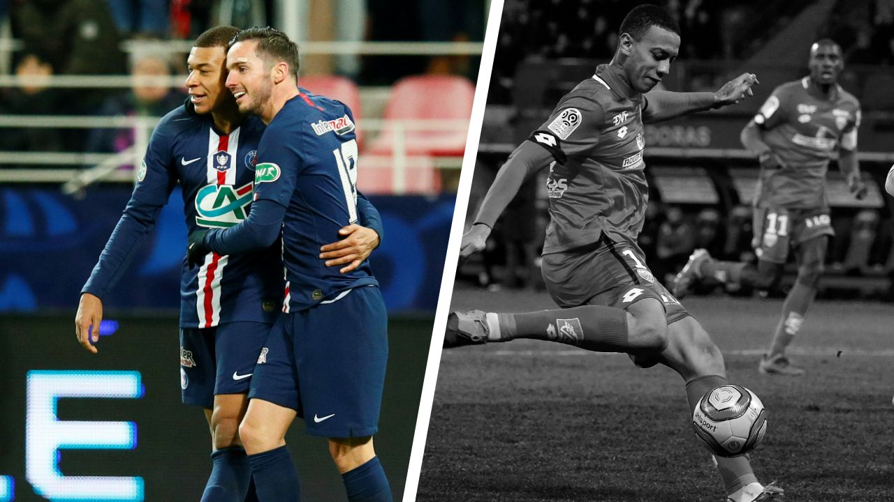 Football - Coupe de France - Tops/flops Dijon-Paris SG : Mbappé intenable, Cadiz maladroit