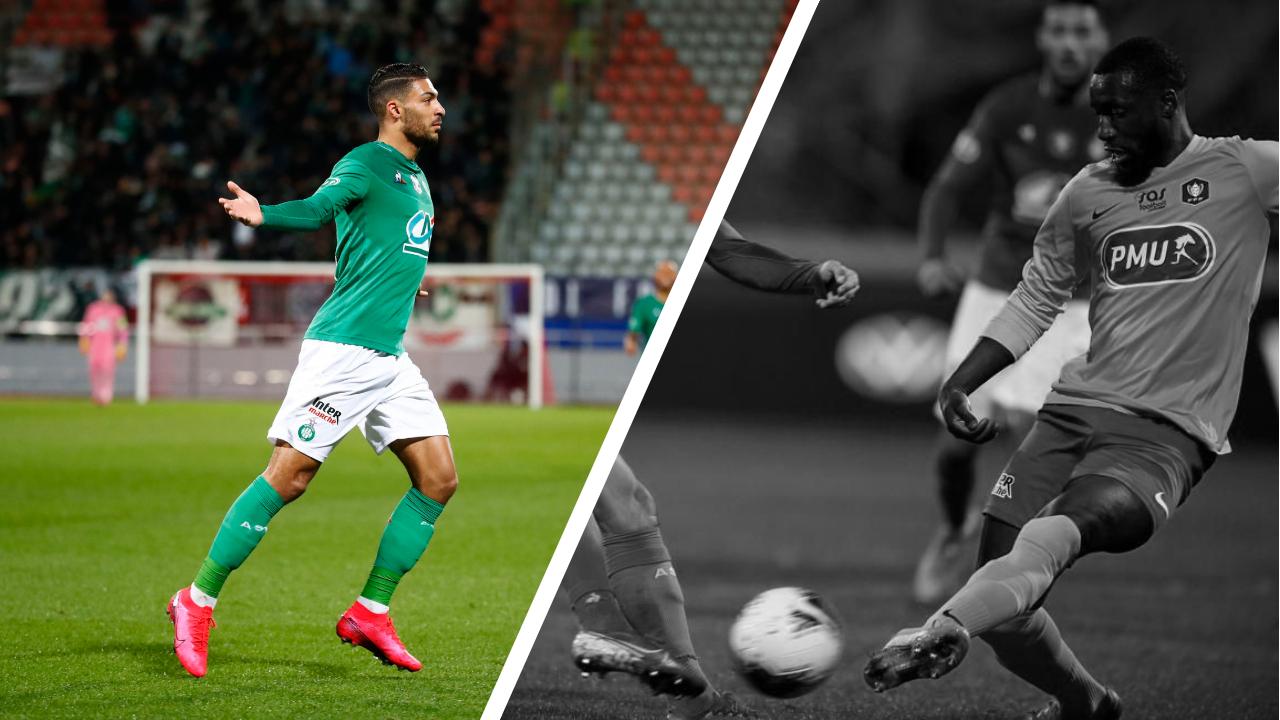 Football - Coupe de France - Tops/Flops Épinal - Saint-Étienne : le bijou de Bouanga, l'erreur de Sangaré