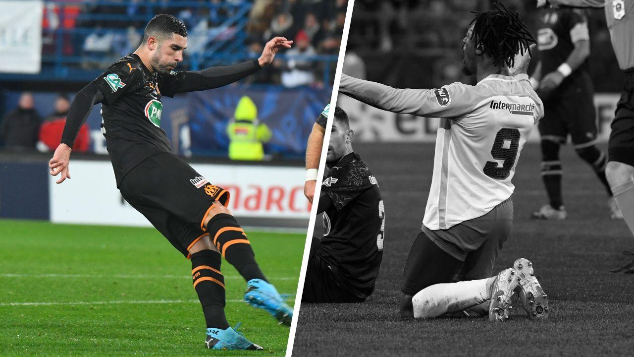 Football - Coupe de France - Tops/flops Granville-Marseille : Gonzalez libère l'OM, Sea plombe les siens