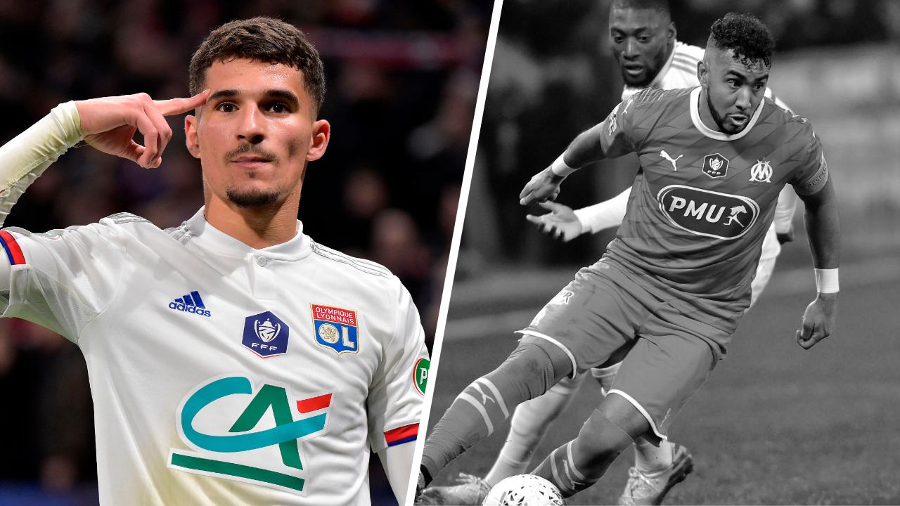Football - Coupe de France - Tops/Flops Lyon-Marseille : Le talent d'Aouar, la déception Payet