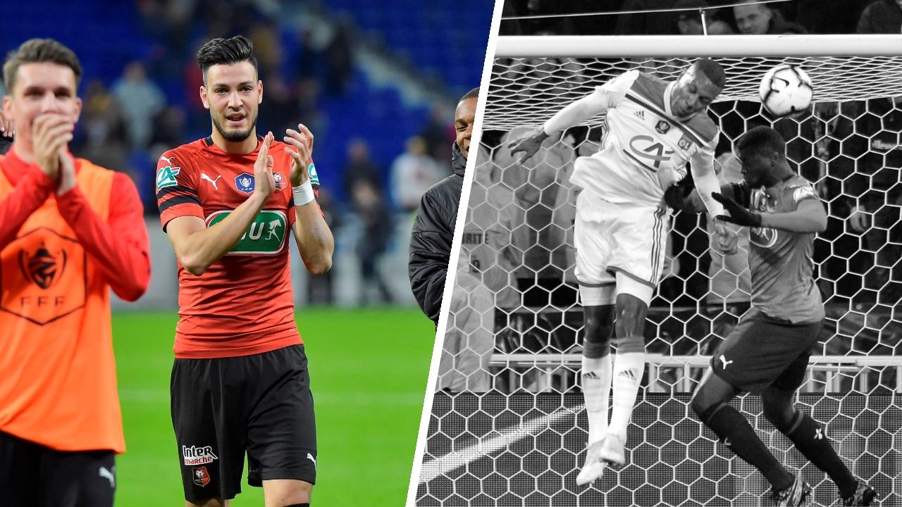 Football - Coupe de France - Tops/flops Lyon-Rennes : Bensebaini omniprésent, Marcelo coupable