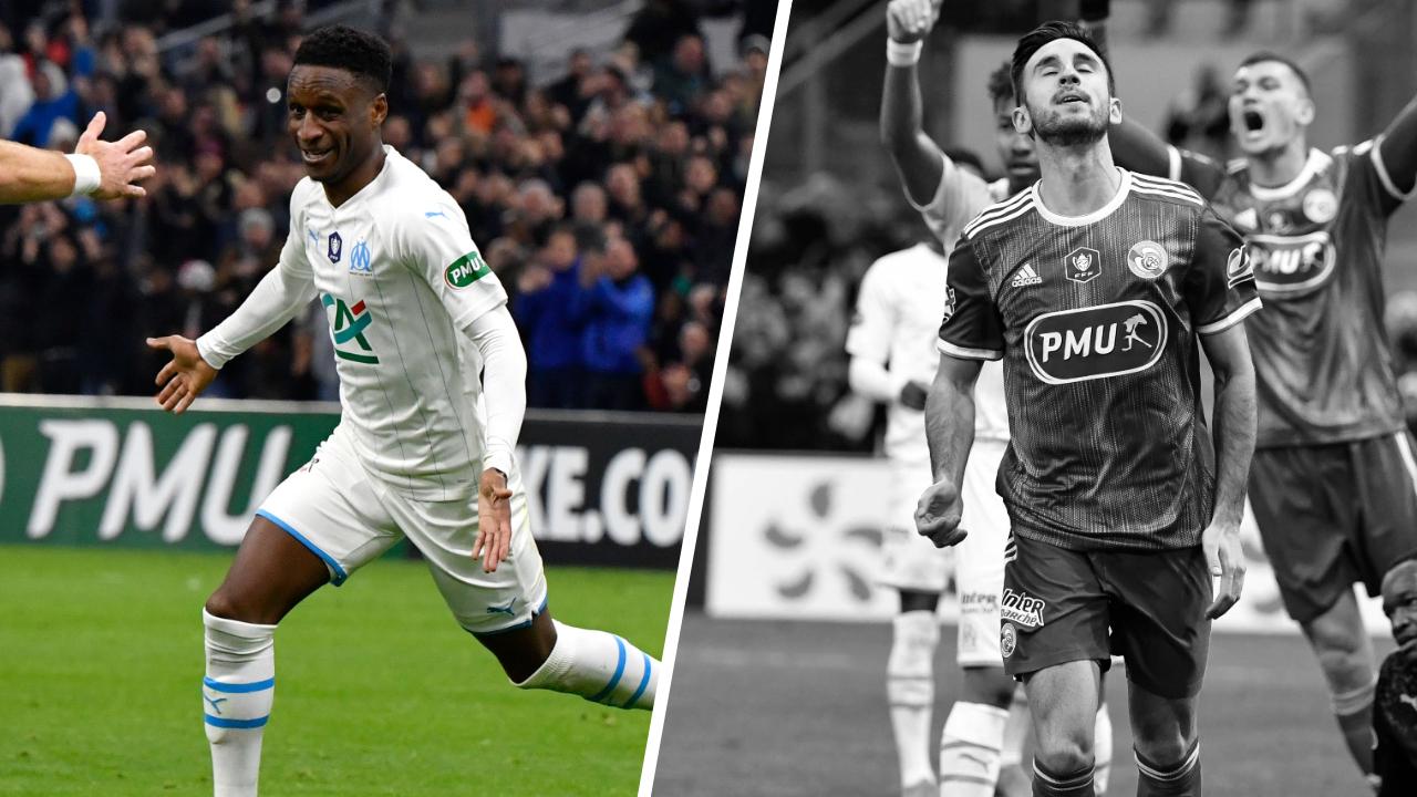 Football - Coupe de France - Tops/Flops OM-Strasbourg : Le bijou de Sarr, la naïveté de la défense alsacienne