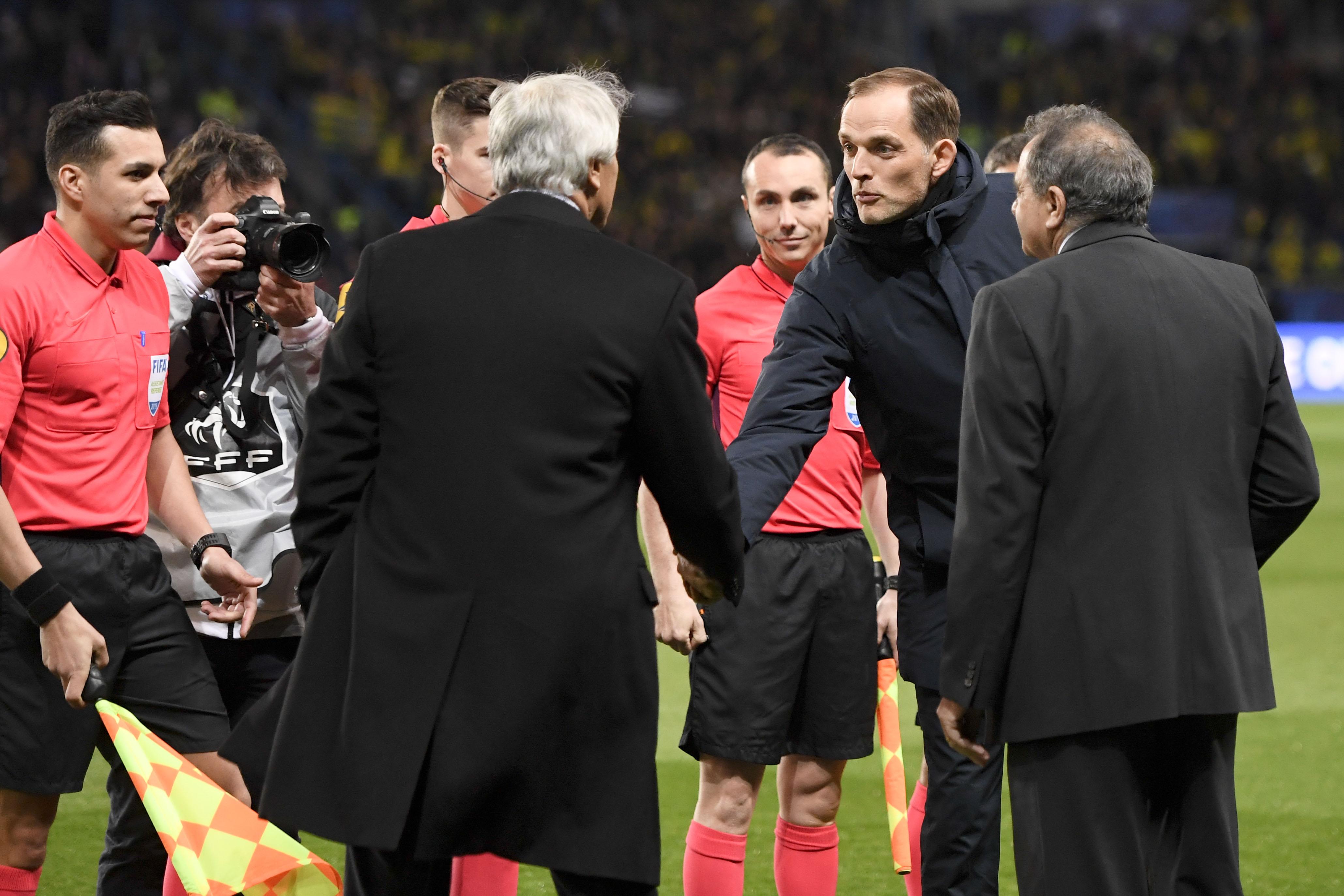 Football - Coupe de France - Tuchel chambreur: «Nous n'étions pas à l'hôtel avant le match et nous avons gagné»
