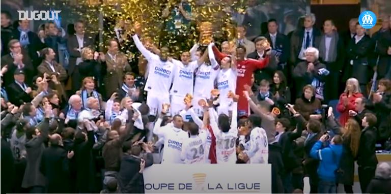 Football - Coupe de la Ligue - C'était il y a 10 ans : la victoire de l'OM en finale de Coupe de la Ligue 2010