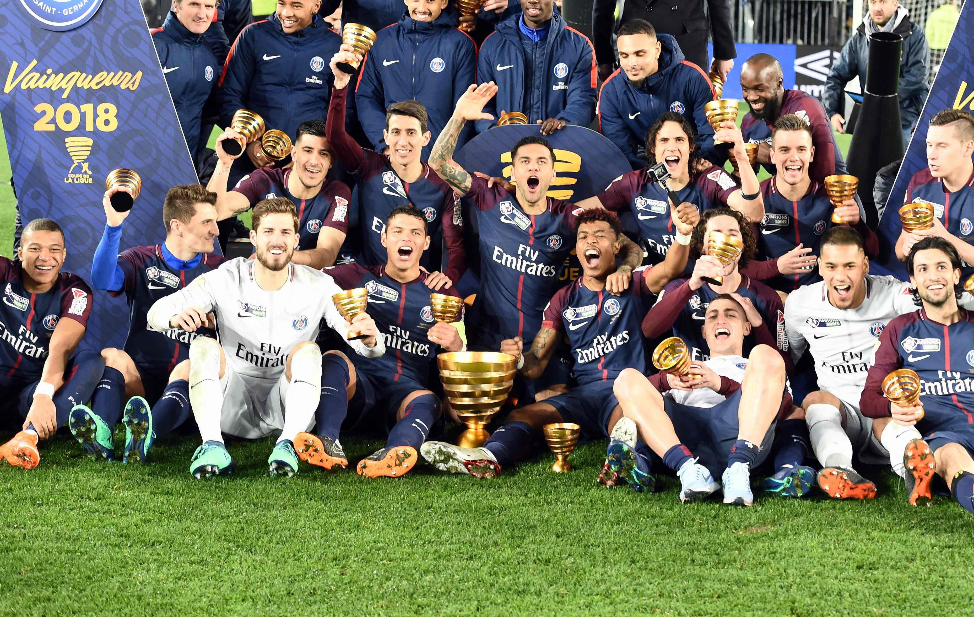 Conqu rant face monaco le psg confisque encore la coupe de la ligue coupe de la ligue - Football coupe de la ligue direct ...