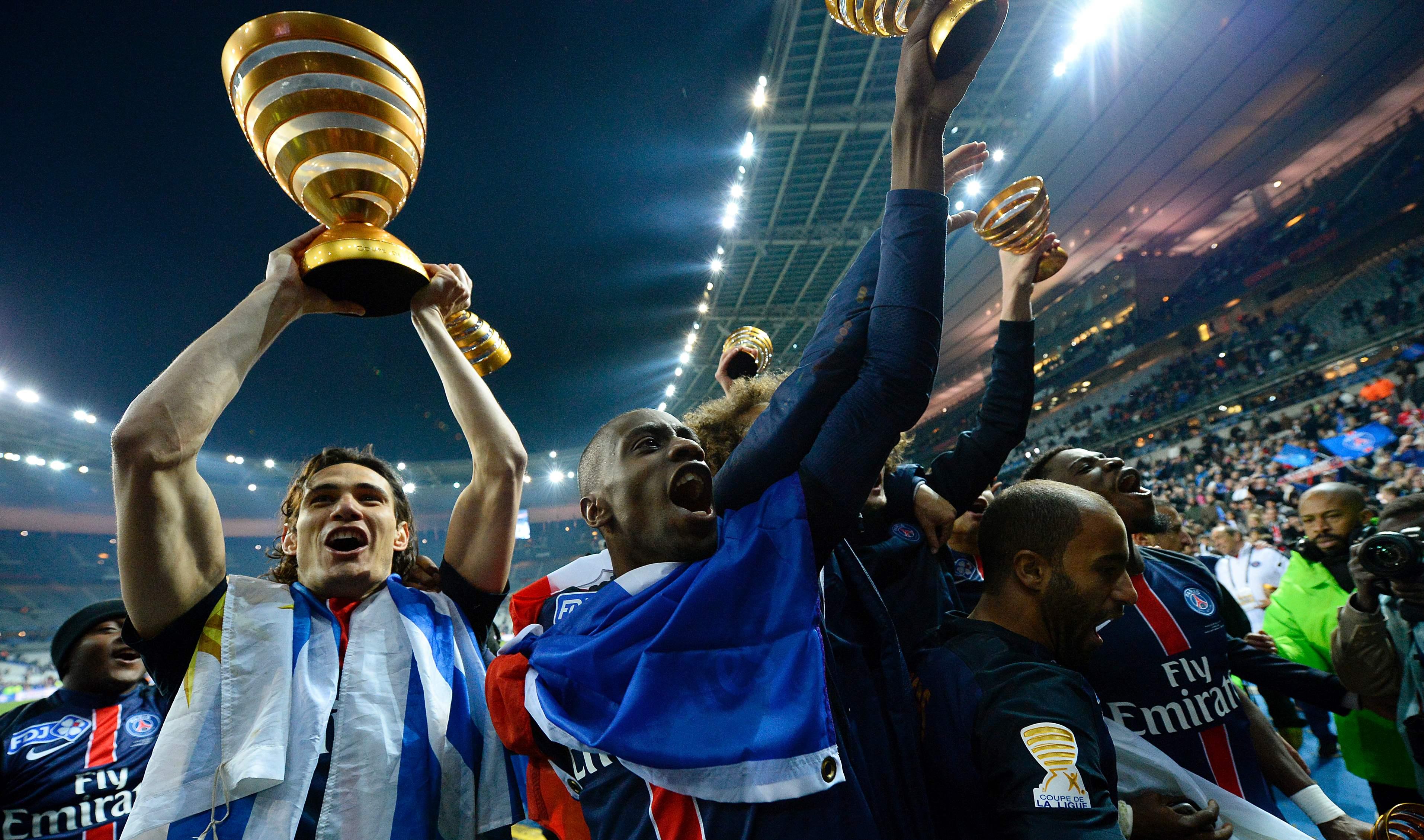 Le paris sg se console avec la coupe de la ligue coupe - Resultats coupe de la ligue 1 football ...