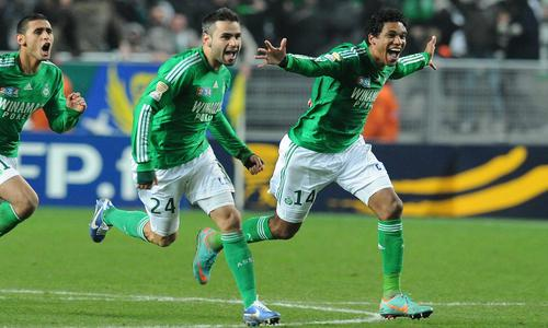 Perrin une grosse joie coupe de la ligue football - Saint etienne paris coupe de la ligue ...
